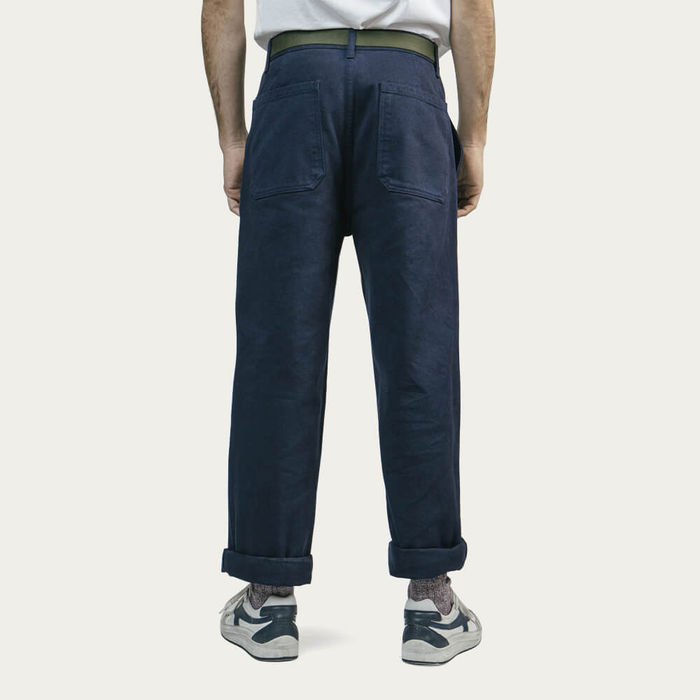 Navy Workwear Pants | Bombinate