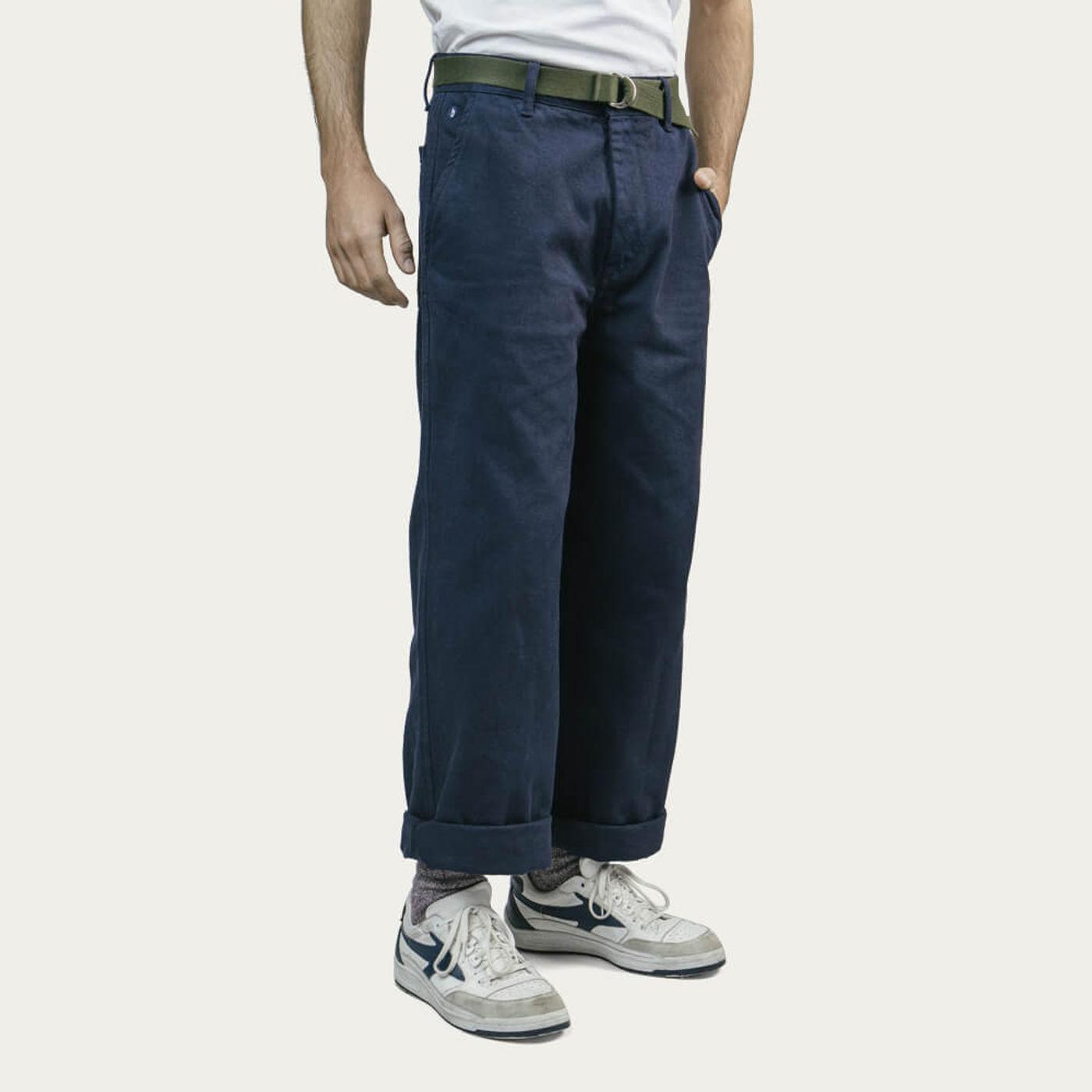 Navy Workwear Pants   Bombinate