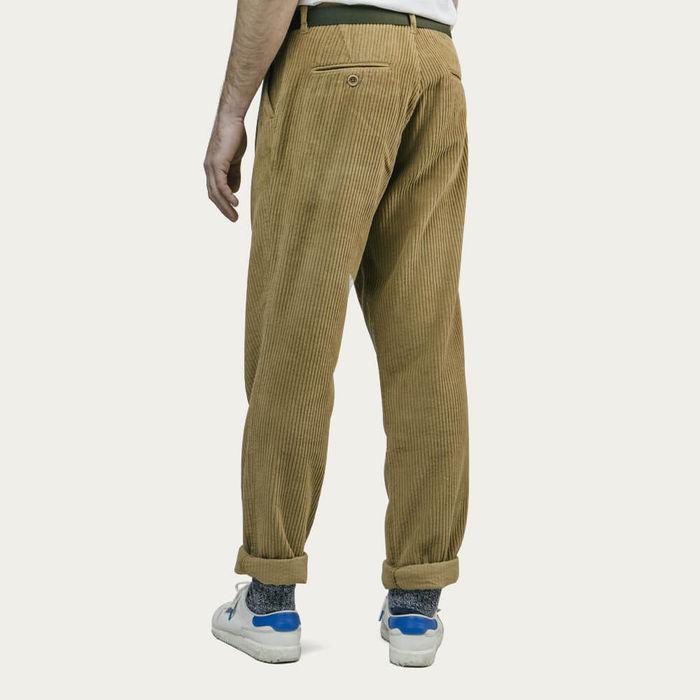 Camel Corduroy Pants   Bombinate