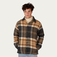 Barney Wool Blanket Shirt | Bombinate