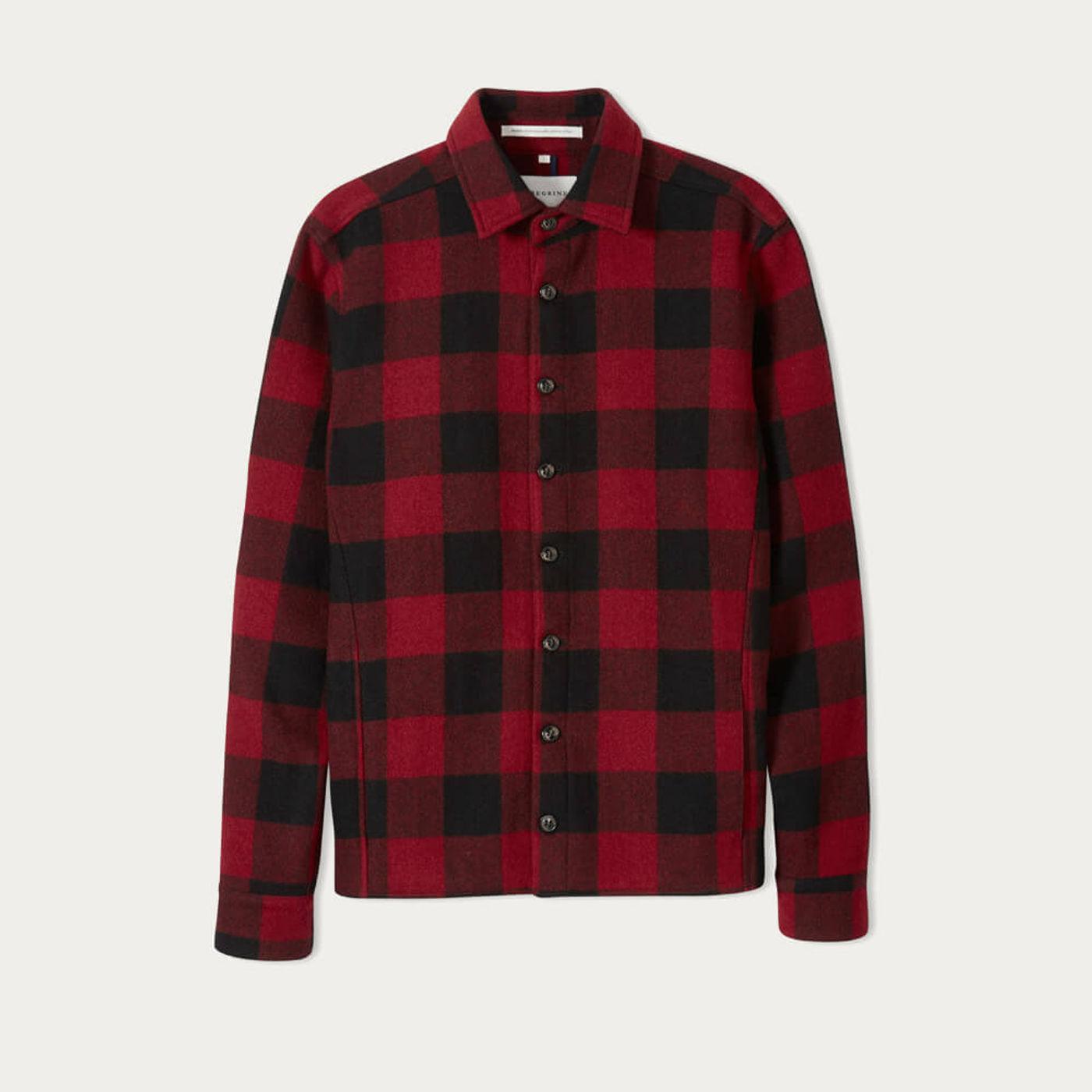 Buffalo Wool Blanket Shirt | Bombinate