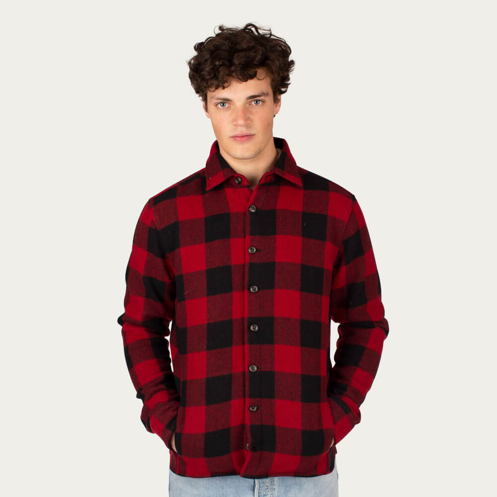 Buffalo Wool Blanket Shirt | Bombinate