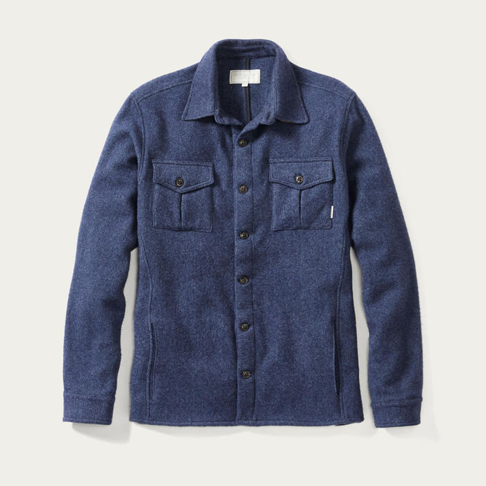 Dexter Wool Blanket Shirt | Bombinate