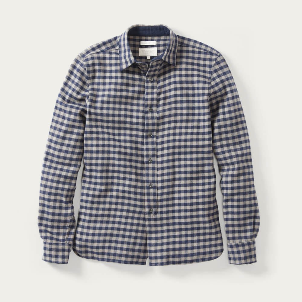 Grey Check Preston Shirt   Bombinate