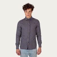 Grey Check Preston Shirt | Bombinate