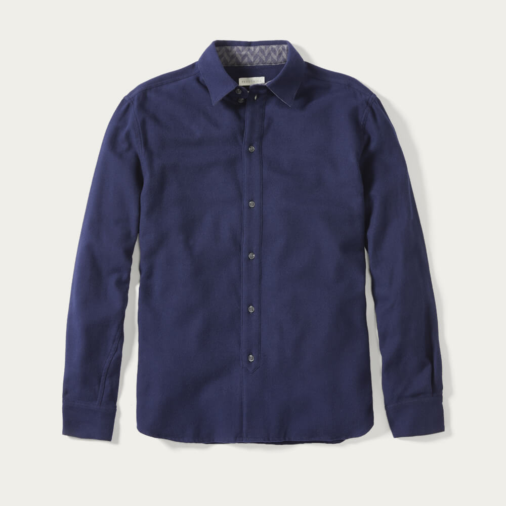 Navy Club Shirt | Bombinate