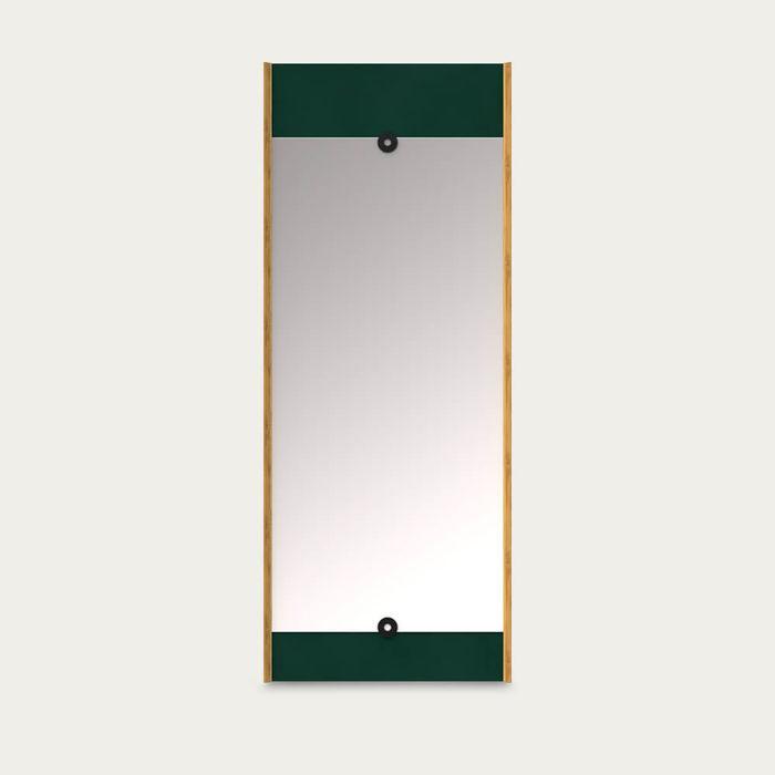 Green Layer Mirror | Bombinate