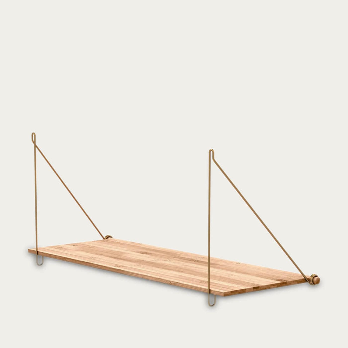Brass Loop Shelf | Bombinate
