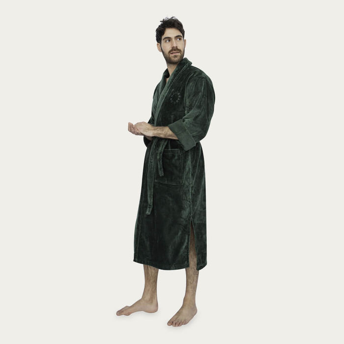 Green Bathrobe | Bombinate