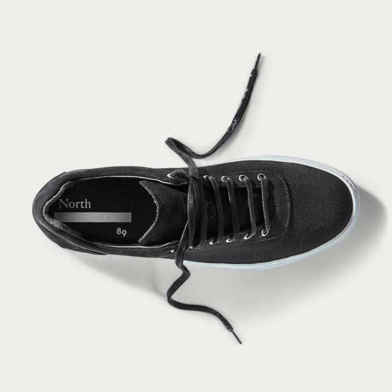 No-1 Black Weatherproof Sneakers | Bombinate
