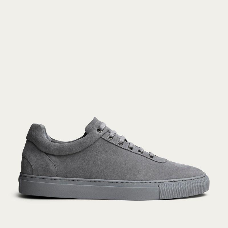 No-1 Stone Grey Sneakers   Bombinate
