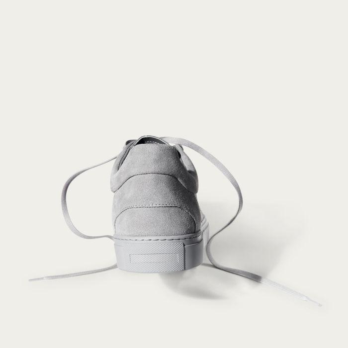 No-1 Stone Grey Sneakers | Bombinate