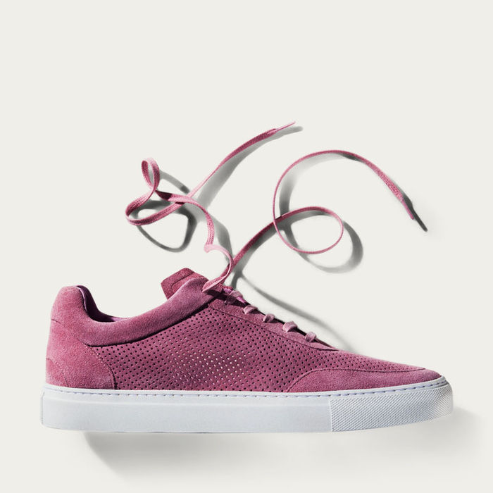No-2 Pastel Pink Breathable Sneakers | Bombinate