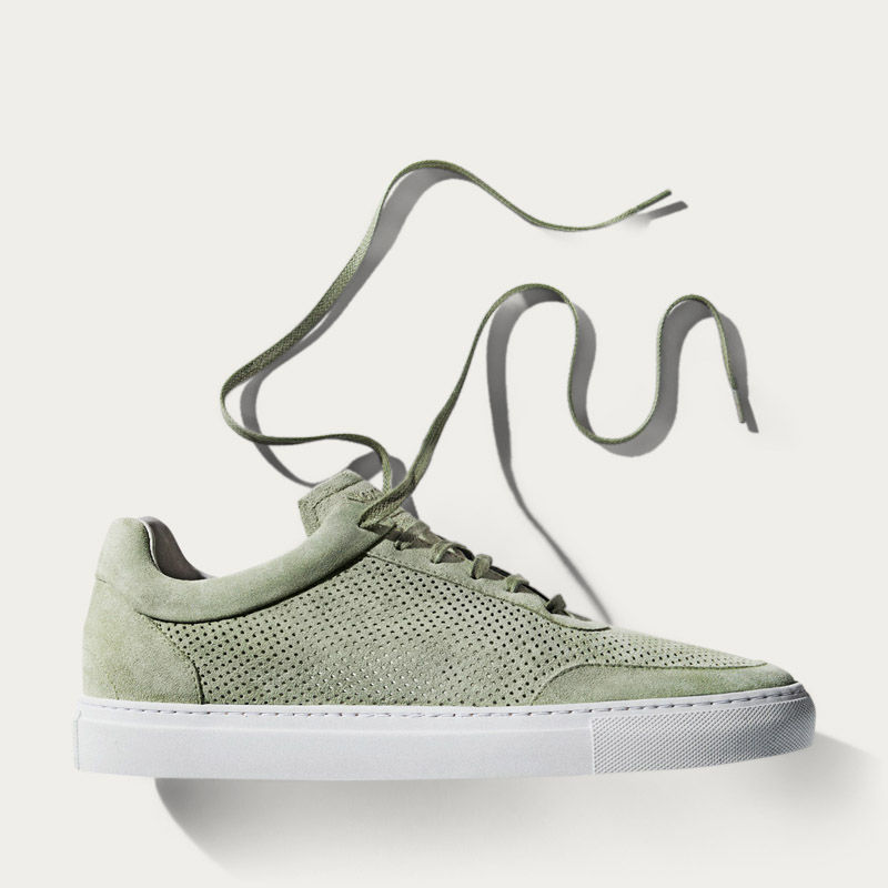 No-2 Pistacchio Breathable Sneakers | Bombinate