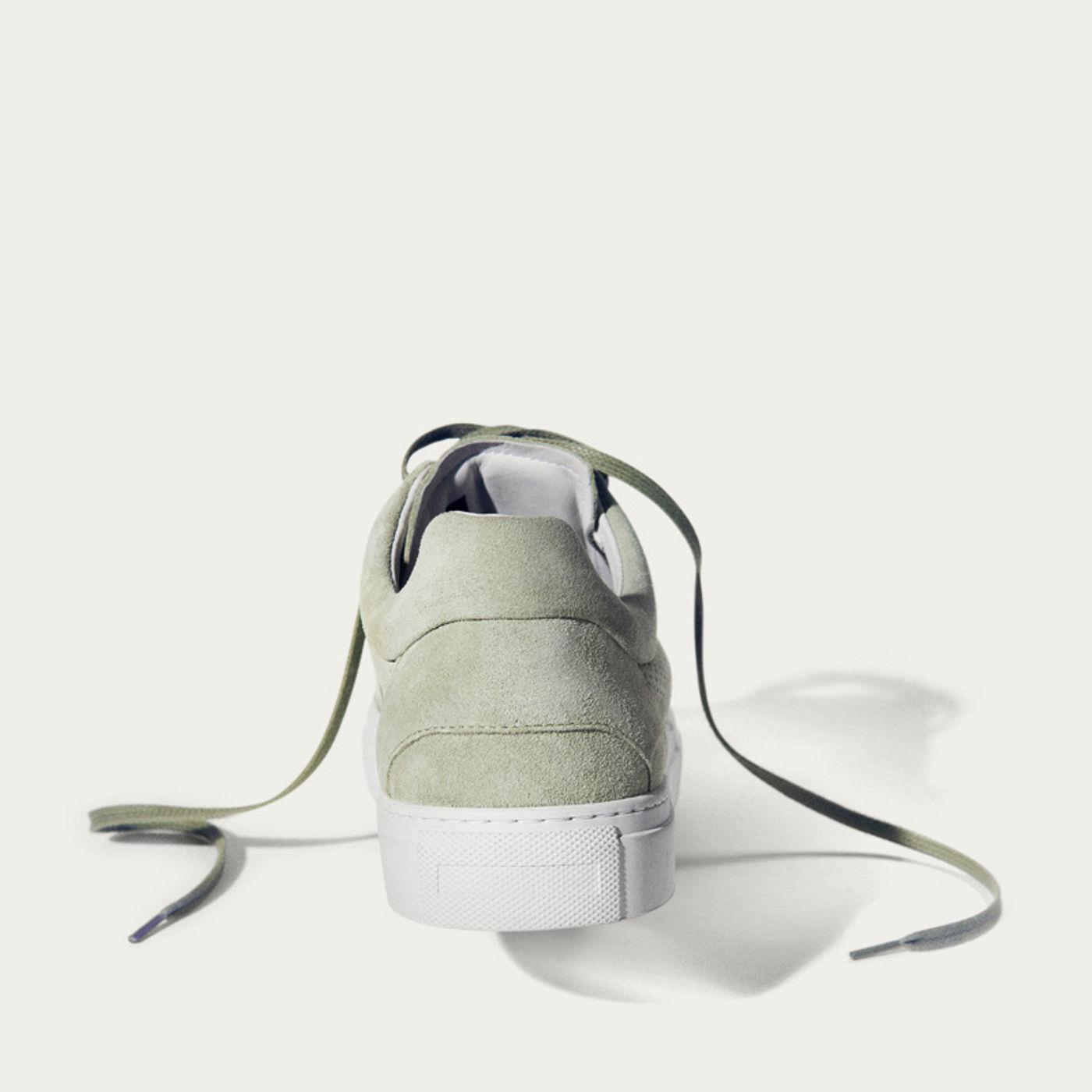 No-2 Pistacchio Breathable Sneakers | Bombinate