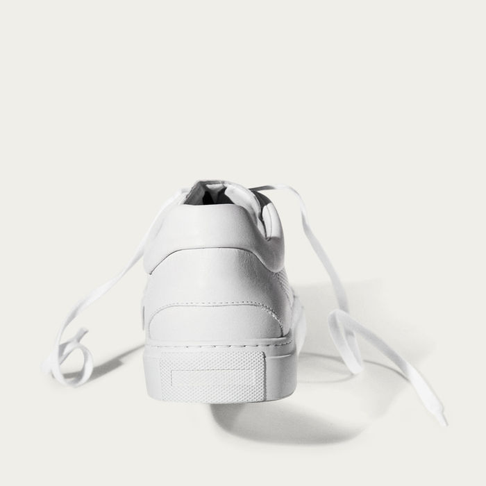 No-2 All White Breathable Sneakers | Bombinate