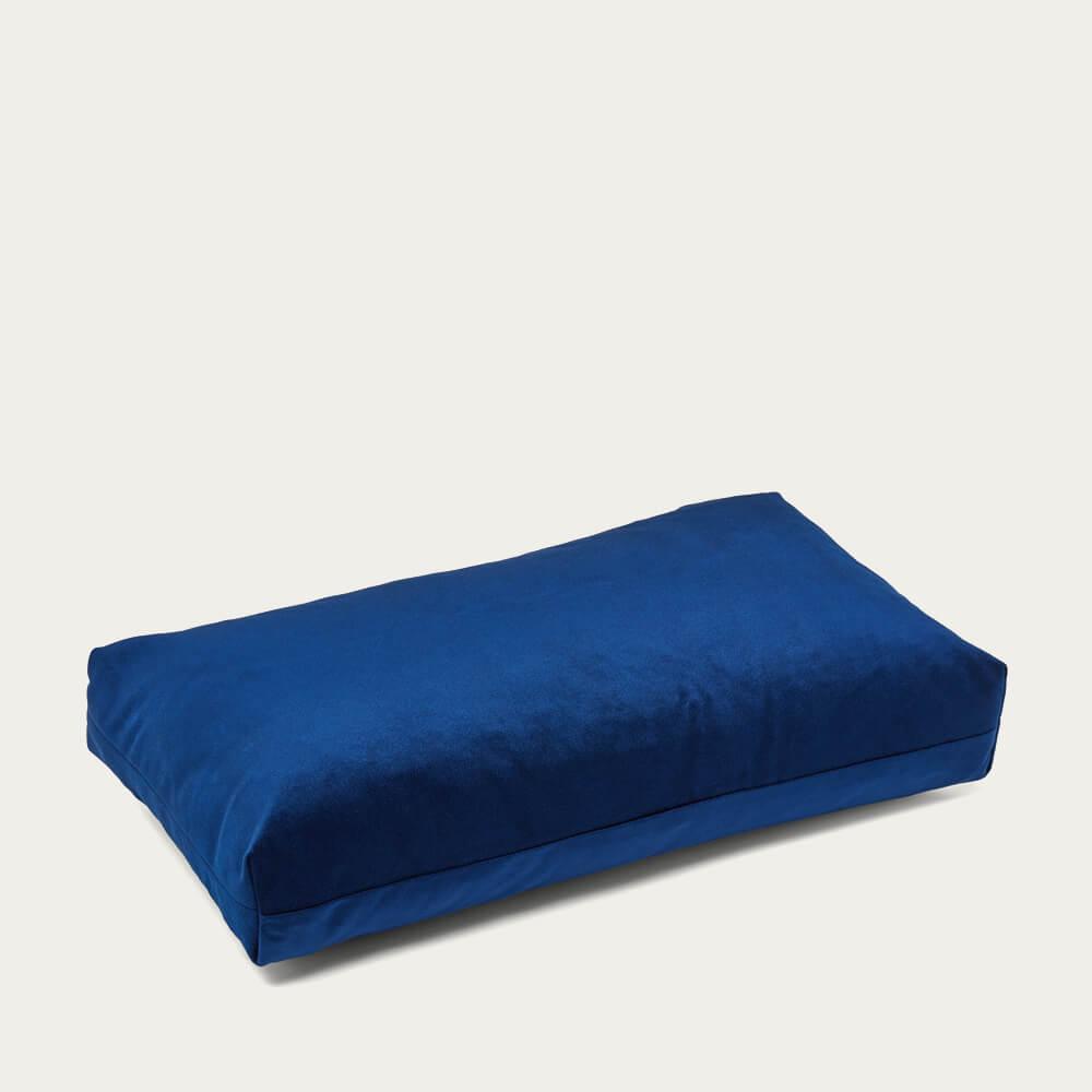 Darkblue Plus Rectangle - The Pillow | Bombinate