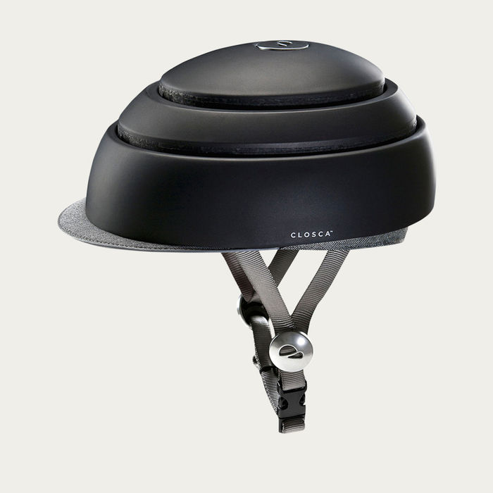 Black Closca Fuga Bike Helmet  | Bombinate