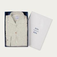 Sabbia Camicia Capri Righe Shirt   Bombinate