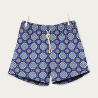 Celeste/Blu Maestrale Swim Shorts | Bombinate