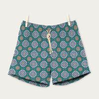 Celeste/Verde Maestrale Swim Shorts | Bombinate