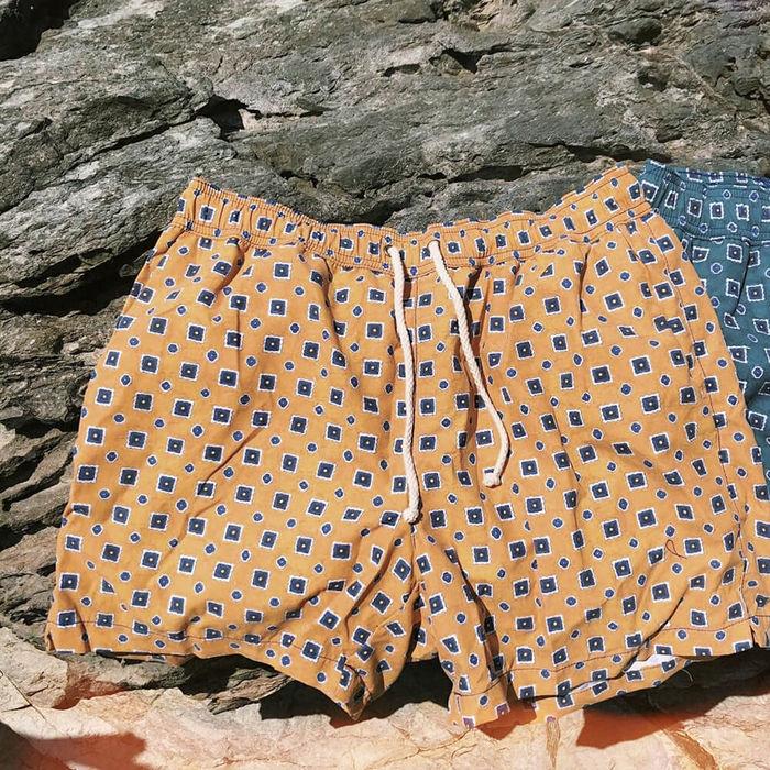Giallo Scirocco Swim Shorts | Bombinate