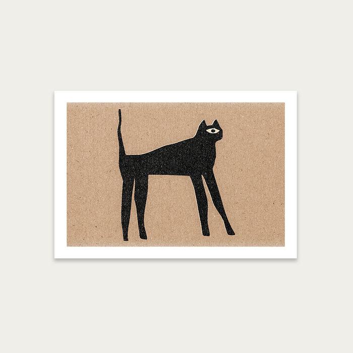 The Cat Art Print Unframed | Bombinate
