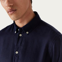 Deep Navy Bampton Shirt | Bombinate