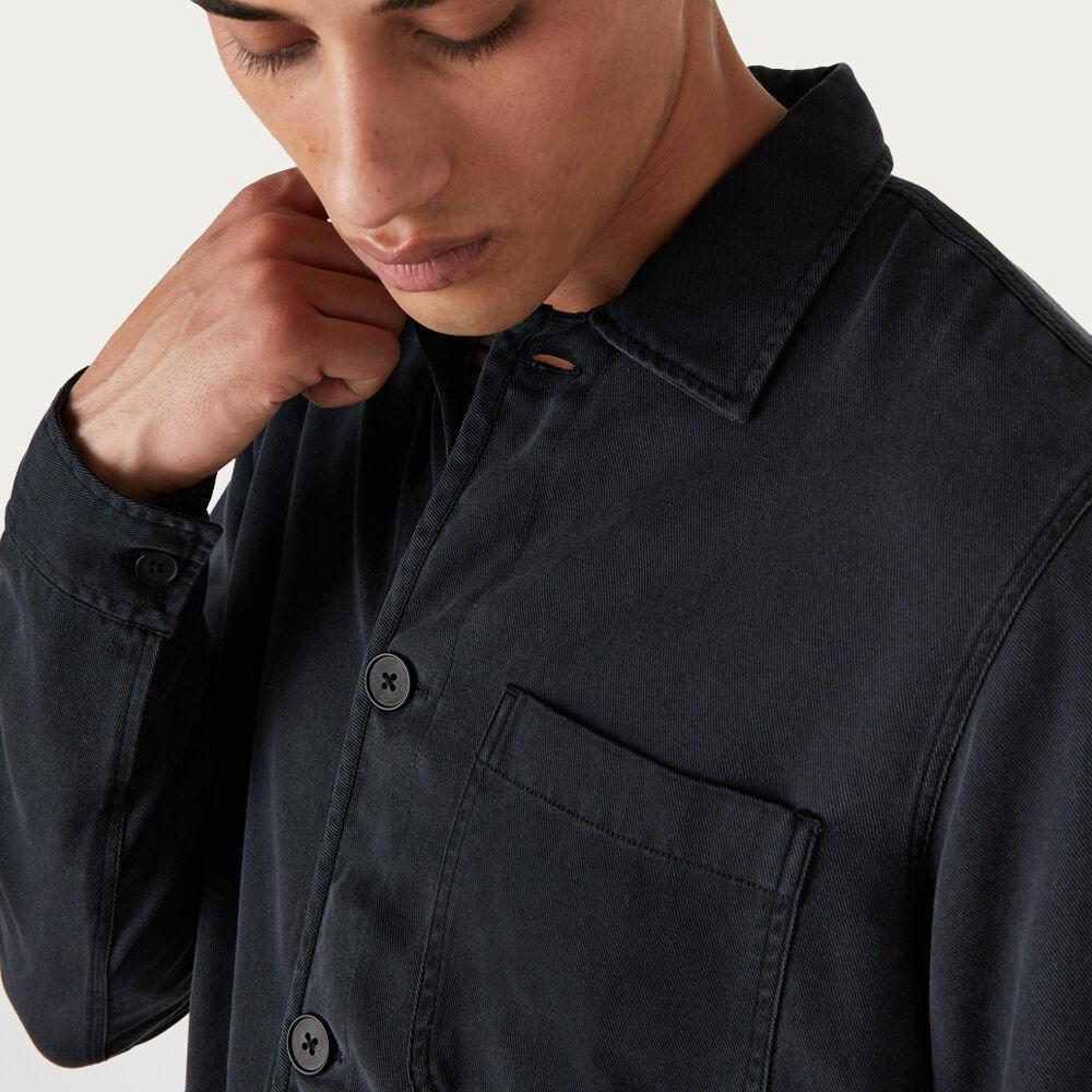 Chet Jacket Black   Bombinate