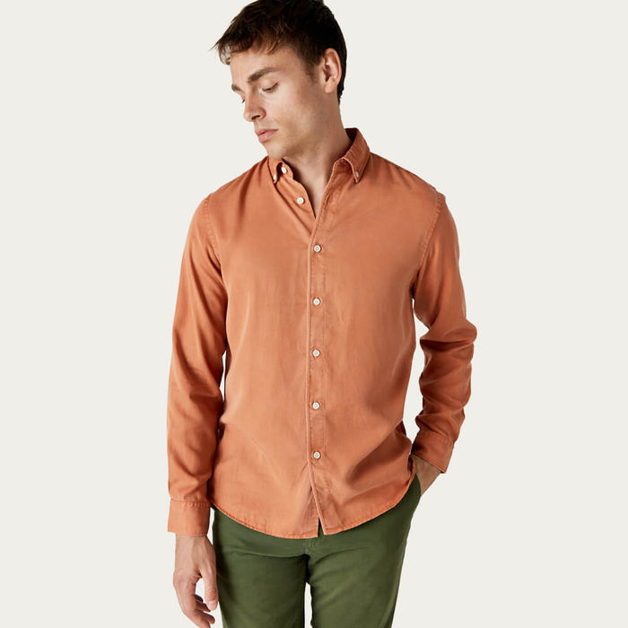 Painter'S Ochre Bampton Shirt   Bombinate