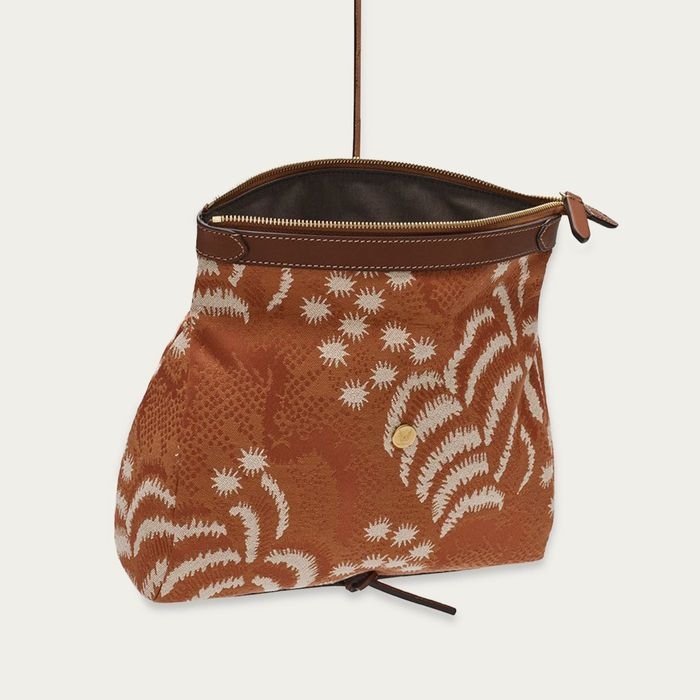 Palm Jacquard/Cuoio M/S Carry   Bombinate