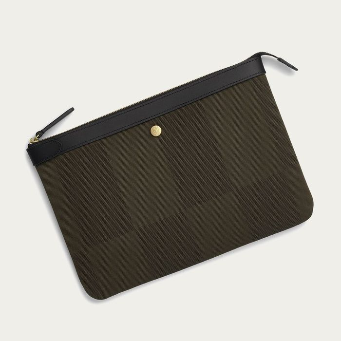 King's Green/Black M/S Pouch Large | Bombinate