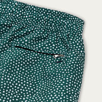 Dark Green Abysses Swim Shorts | Bombinate