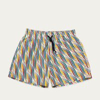 Yellow Mustard Sillage Swim Shorts | Bombinate
