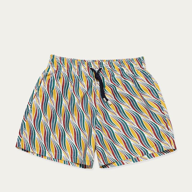 Yellow Mustard Sillage Swim Shorts | Bombinate