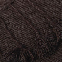 Stain Wanaka Cashmere Throw with Pompoms   Bombinate