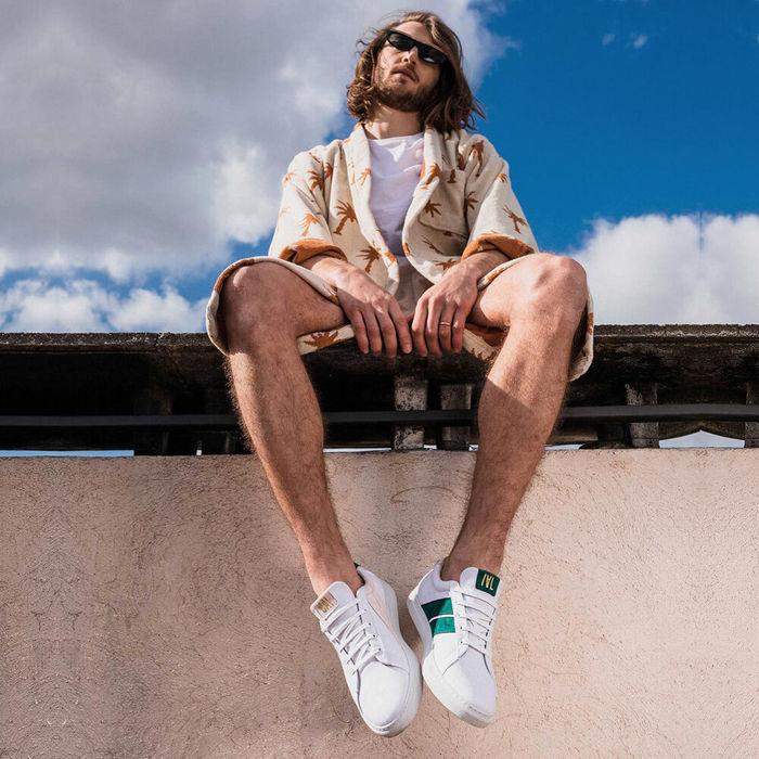 Pink Emerald Korben & Leeloo Sneakers | Bombinate