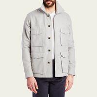 Dove Grey Desert Jacket  | Bombinate