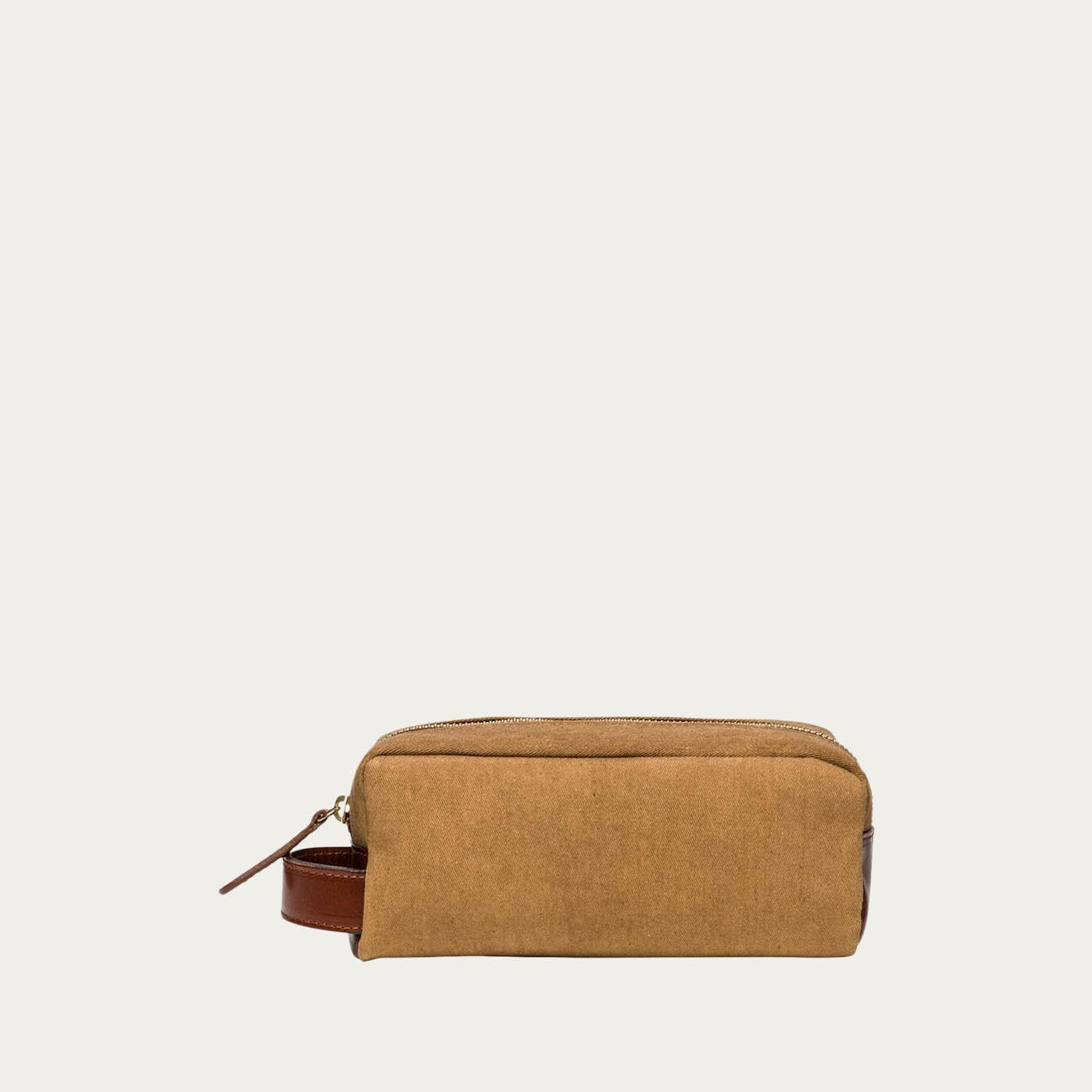 Mustard Mini Dopp Kit  | Bombinate