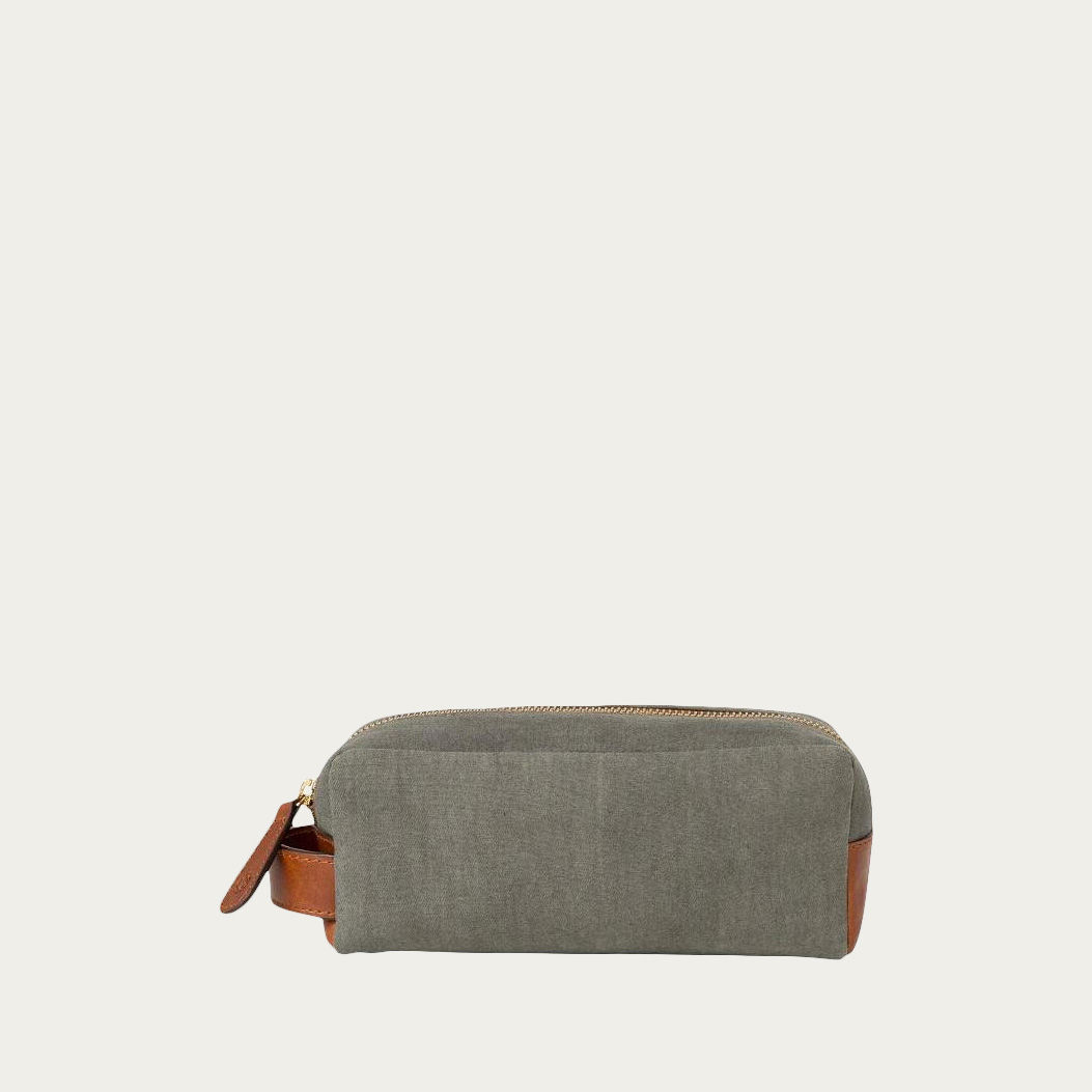 Olive Mini Dopp Kit  | Bombinate