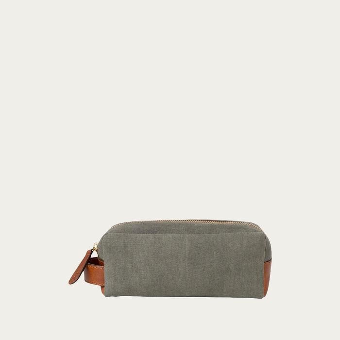 Olive Mini Dopp Kit  | Bombinate