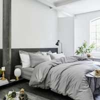 Grey The Classic Collection Duvet Cover | Bombinate