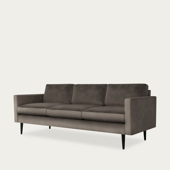 Elephant Model 01 Velvet 3 Seater Sofa | Bombinate
