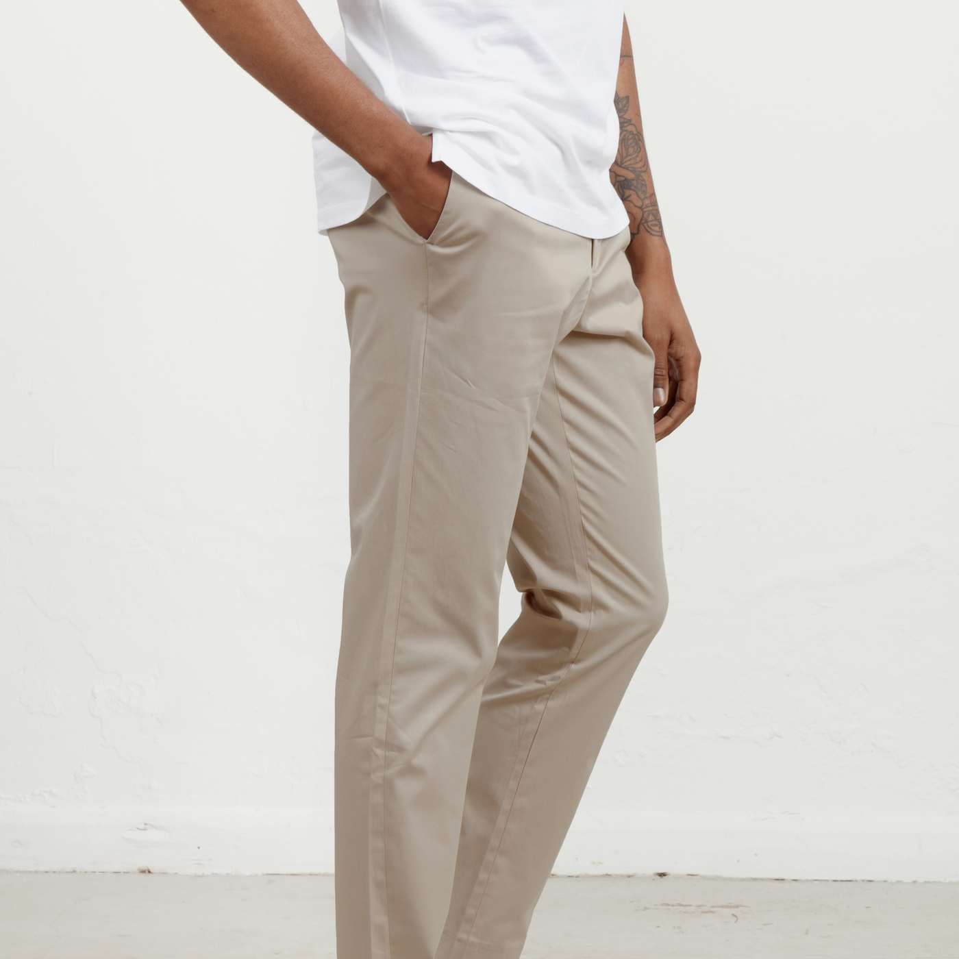 Beige 24 Trouser  | Bombinate