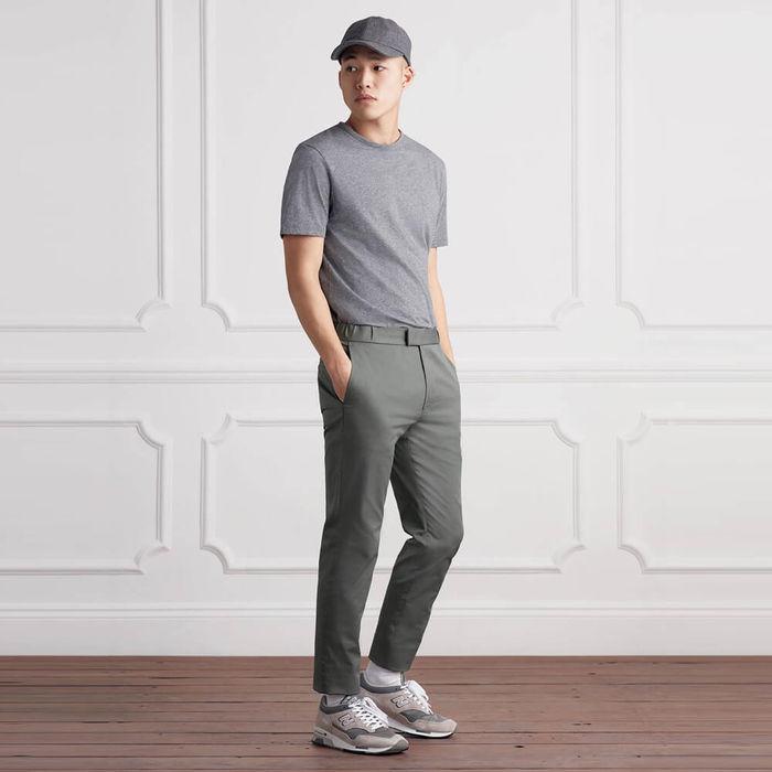 Moss Grey The 24 Trouser | Bombinate