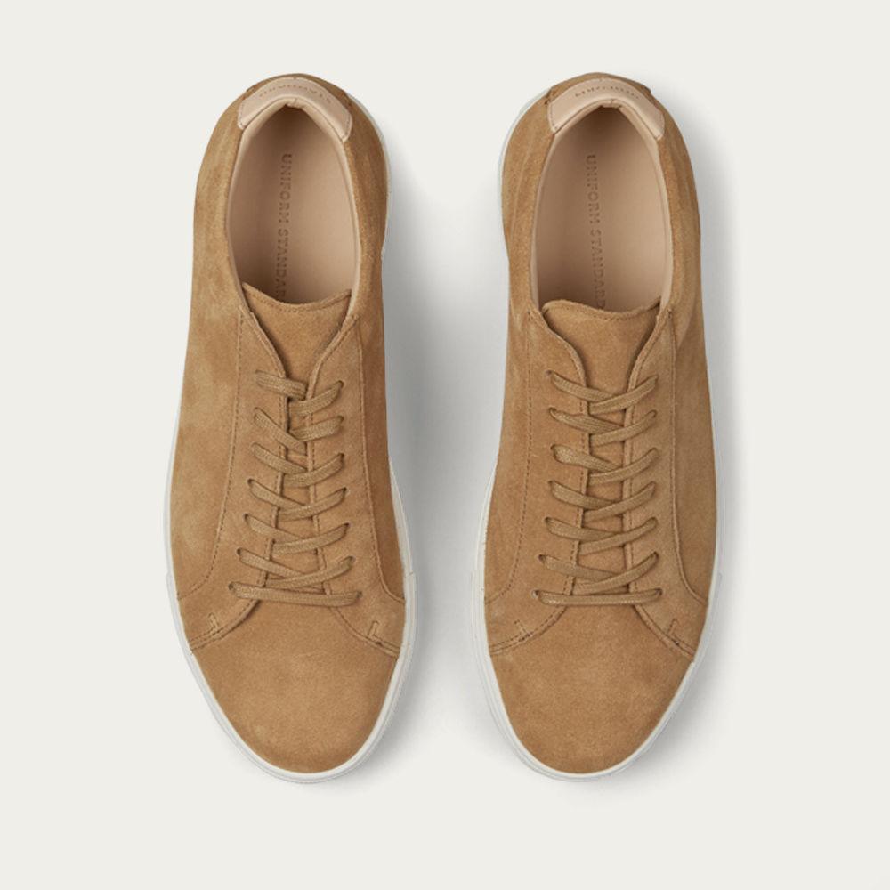 Tan Suede Series 1 Sneakers | Bombinate