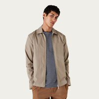 Brushed Sand Witham Coach Jacket | Bombinate