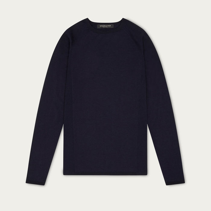 Navy Blue Nelson Merino Baselayer | Bombinate