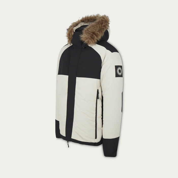 Off White / Black Pilot Down Jacket | Bombinate