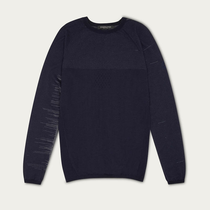 Navy Blue Vincent Graphene Baselayer | Bombinate